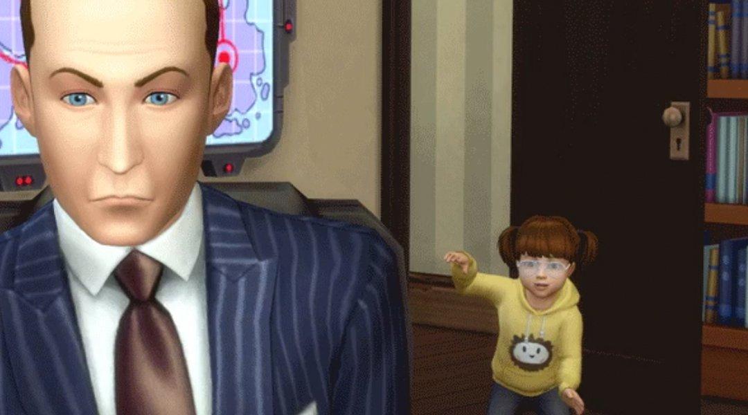 The Sims Pokes Fun at BBC Interview Fail