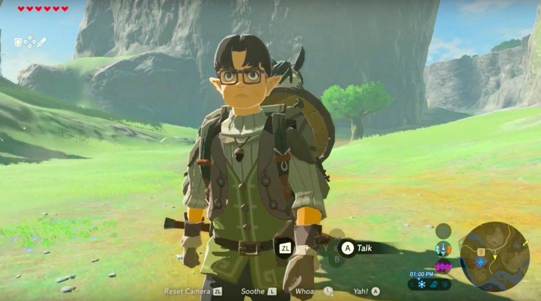 Zelda: Breath of the Wild Has a Satoru Iwata Tribute?